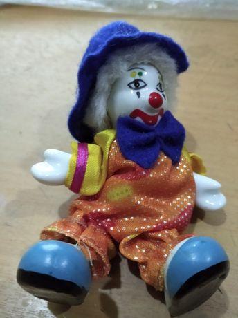 Клоун фарфоровый.Бесплатная доставка.