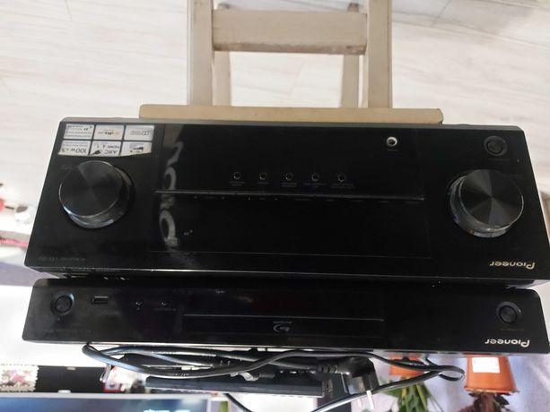 Amplituner + odtwarzacz dvd blue ray Pioneer