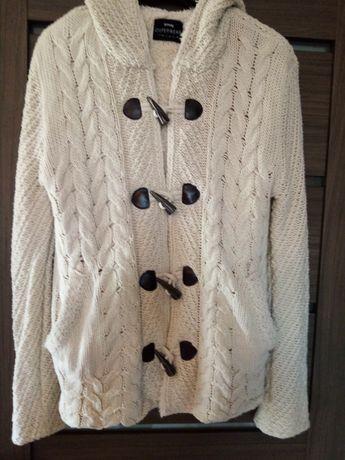 Sweter na futerku Sinsay