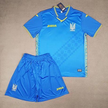 Сине-желтые Футбольные формы Joma