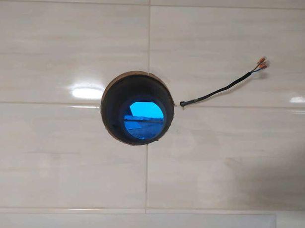 Сверление отверстий под вентиляцию и коммуникации, резка бетона.