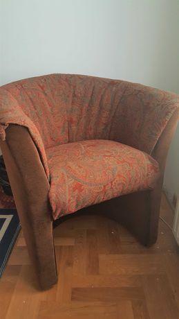 Fotel z nową tapicerką. Nie odpowiadam na sms-y!