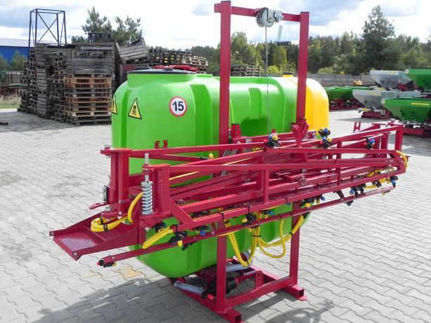 Opryskiwacz zawieszany ręczny/hydrauliczny Tolmet/Promar DOSTAWA