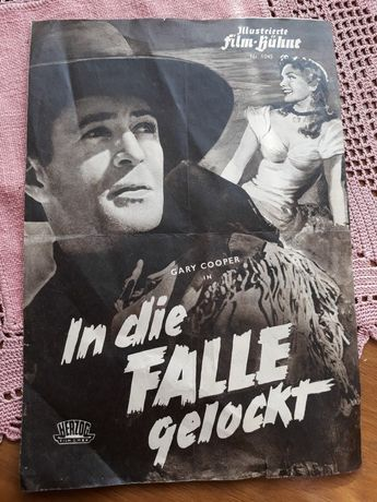 Ulotka filmowa z 1940 r.