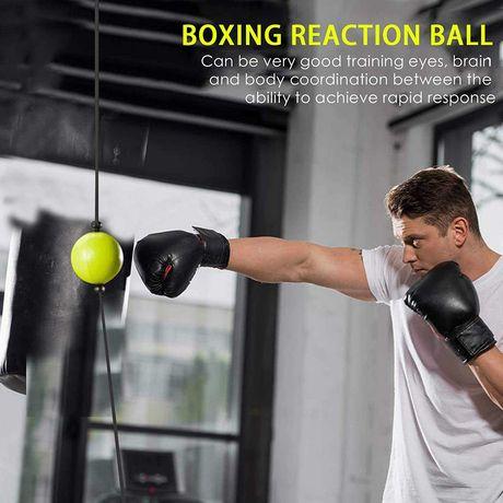 Bola de treino Boxe com ventosas