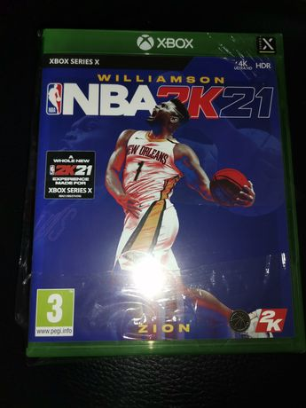 Jogo NBA 2K21 XBOX