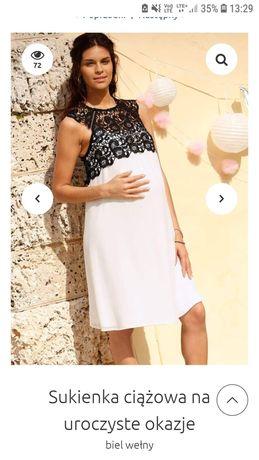 Elegancka sukienka ciążowa rozmiar L 44-46