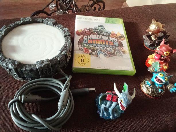 Gra na Xbox 360 SKAYLANDERS GIANTS cały komplet portal i figurki