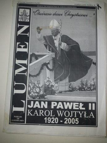 unikat,gazetka,czasopismo Jan Paweł II, K.Wojtyła,250 sztuk, 36 zdjęć