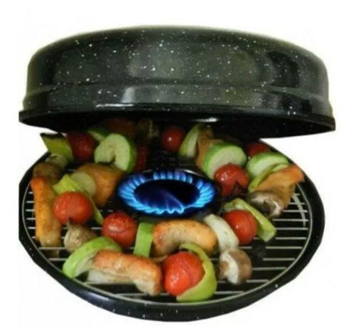 Сковорода гриль-газ BENSON с антипригарным покрытием