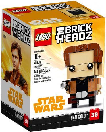 Лего Lego BrickHeadz Хан Соло звездные войны star wars 41608