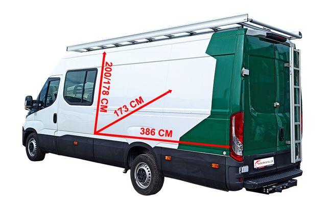 Wynajmę brygadówkę Iveco transit, LT35