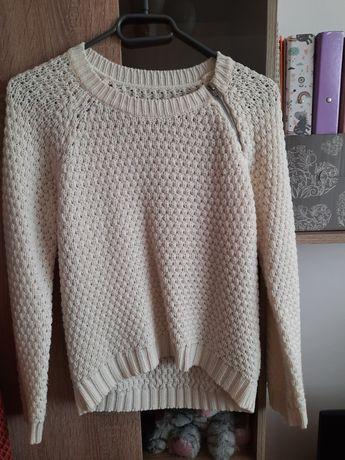 Ecru sweterek r. 36