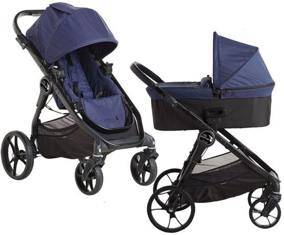 Nowy wózek baby jogger City Premier Indigo 2w1