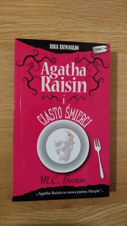 Nowa książka Agatha Raisin i ciasto śmierci - M. C. Beaton