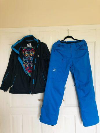 Kurtka narciarska damska+spodnie+Buff Salomon, rozmiar L.