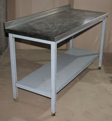 Стол производственный на металл. основе 140х60х85 см., Б/у 42510
