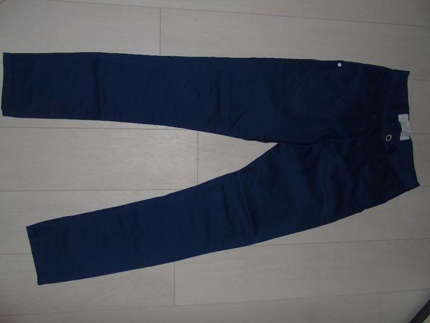 штани стильні сині