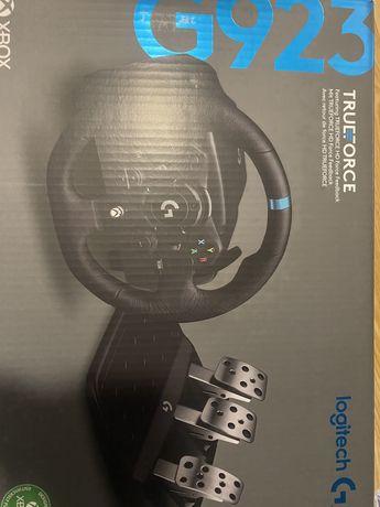 Volante Logitech G923 Trueforce PC/Xbox/Playstation - NOVO!