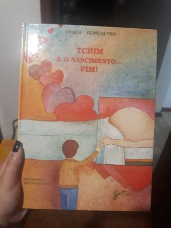 Livro Tchim e o nascimento...pim!