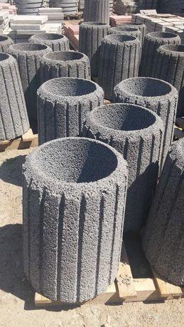 Мусорные урны уличные бетонные (Объём 42л)