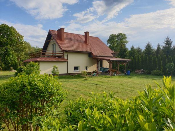 Przytulny domek + sauna na pojezierzu Łęczyńsko-Włodawskim