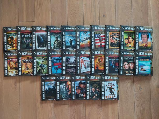 Kolekcja filmowa 25 DVD Tematyka wojenna