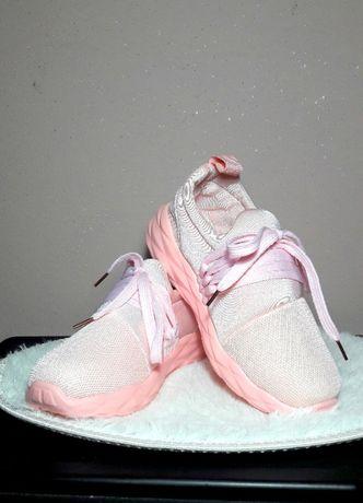 Damskie buty sportowe 37 Różowe adidasy