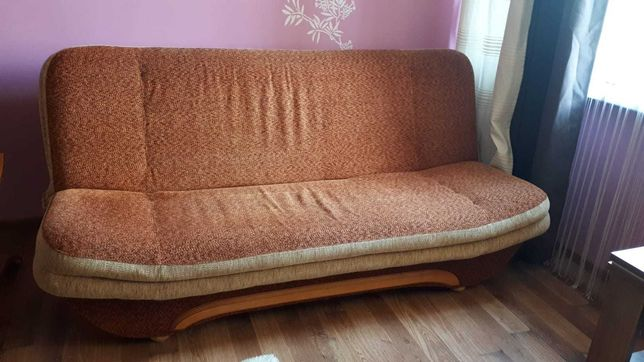 Sofa rozkładana, łóżko