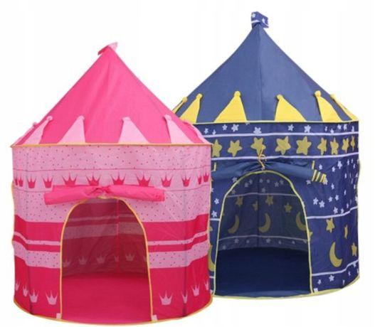 Детская палатка шатер домик Замок 2-цвета Польша В Наличии