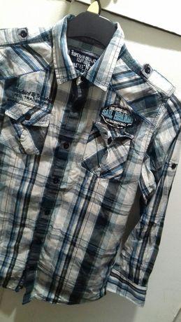 Koszula  w kratę 158-164cm