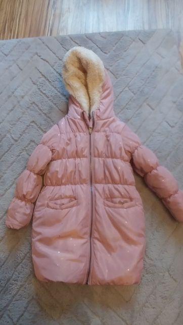 Bardzo ciepła kurtka zimowa rozmiar 122