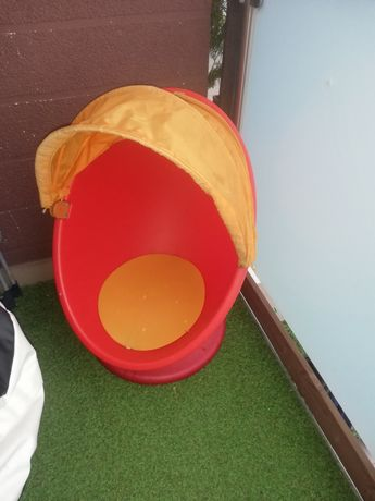 Fotel obrotowy jajo Ikea