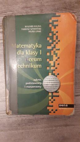 Matematyka dla klasy 1 liceum i technikum