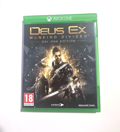 Deus Ex Mankind Divided - Day one edition - Xbox One