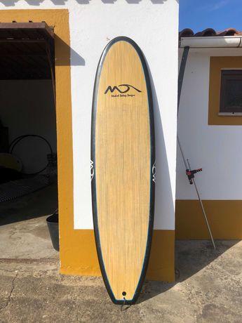 7 foot Dolsey Woody Surfboard / LOCATION : MILFONTES