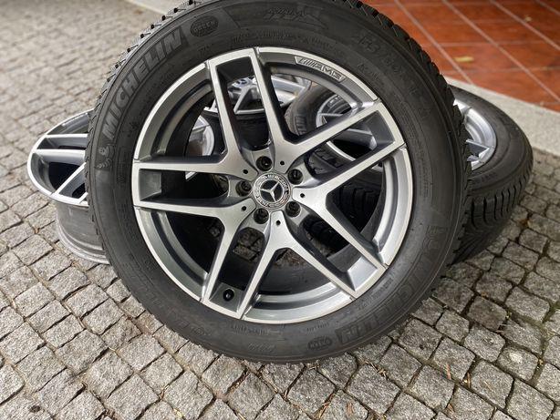 """Jantes 19"""" 5x112 AMG originais Mercedes GLC coupe 8"""" et38 9"""" et20 audi"""