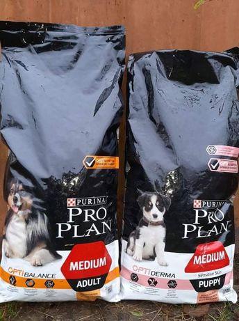 ProPlan корм для собак Проплан Medium adult и Puppy мешок