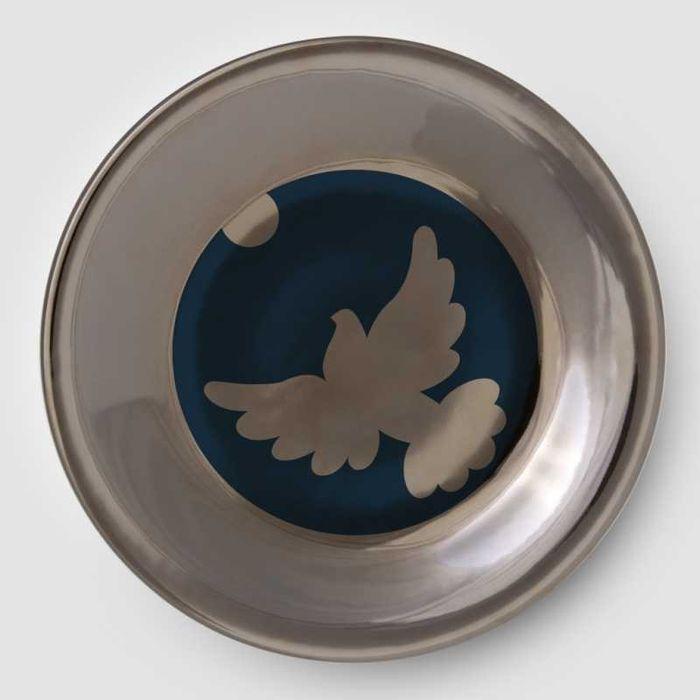 Recznie malowany talerz nascienny Anna Kuczynska Wałbrzych - image 1