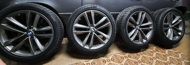 Диски с резиной на BMW R19 зима Pirelli