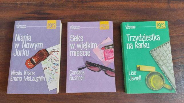 Książki Niania w Nowym Jorku Seks w wielkim mieście Trzydziestka