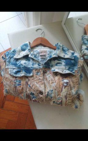 Blusão ganga Tamanho 36
