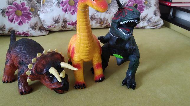 Іграшки Динозаври / Игрушки Динозавры
