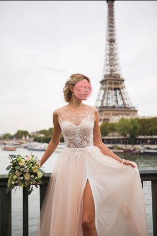 Шикарное Свадебное платье или для выпускного, размер S