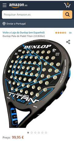 Raquete de padel Dunlop Titan killer 2.0