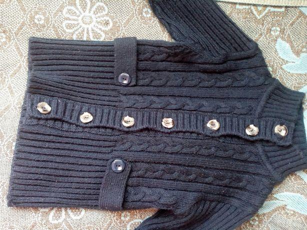 кофта свитер 128 для девочки