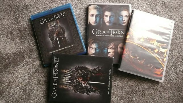 Gra o tron sezon 1,2,3,4,5,6, sez.1,4,5 blu-ray /polska wersja język