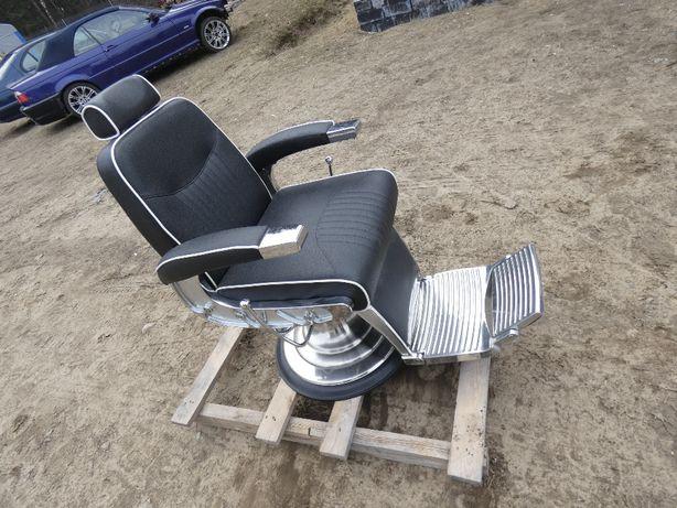 Fotel Barberski fryzjerski bardzo ładny stan
