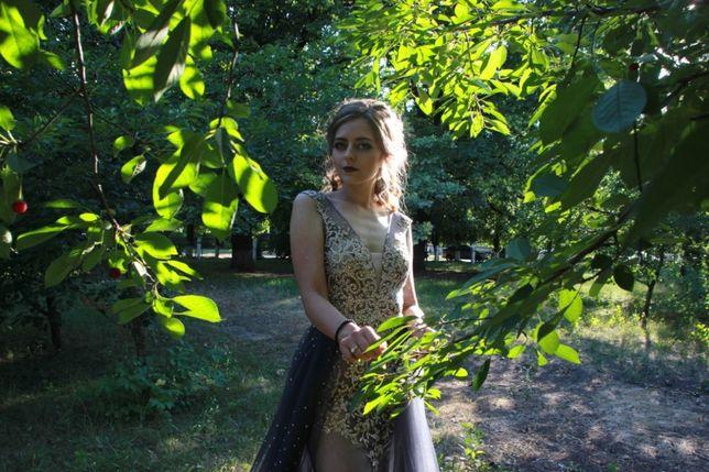 Шикарное платье для выпускного вечера JOVANI