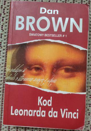 Dan Brown - Kod Leonarda da Vinci | miękka okładka